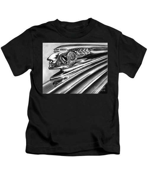 1937 Pontiac Chieftain Abstract Kids T-Shirt