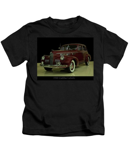 1940 Cadillac Lasalle Kids T-Shirt