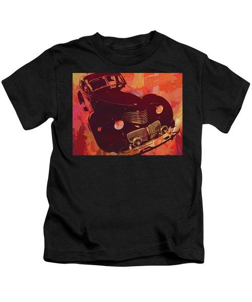 1940 Hupp Skylark Red Pop Kids T-Shirt