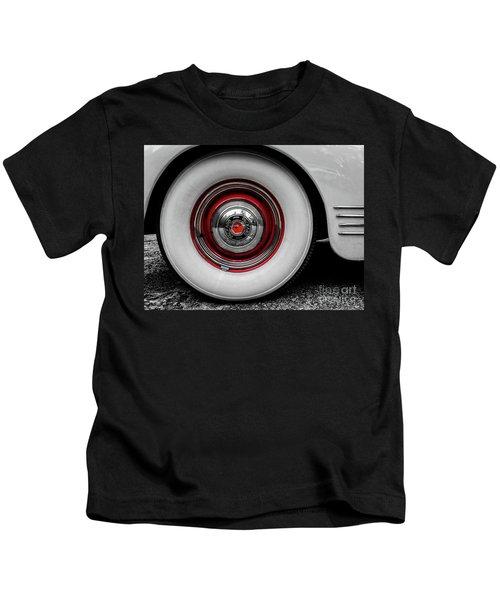 1941 Packard Convertible Wheels Kids T-Shirt