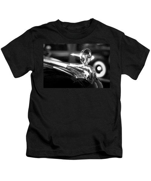1946 Ford V8 Hood Ornament Kids T-Shirt