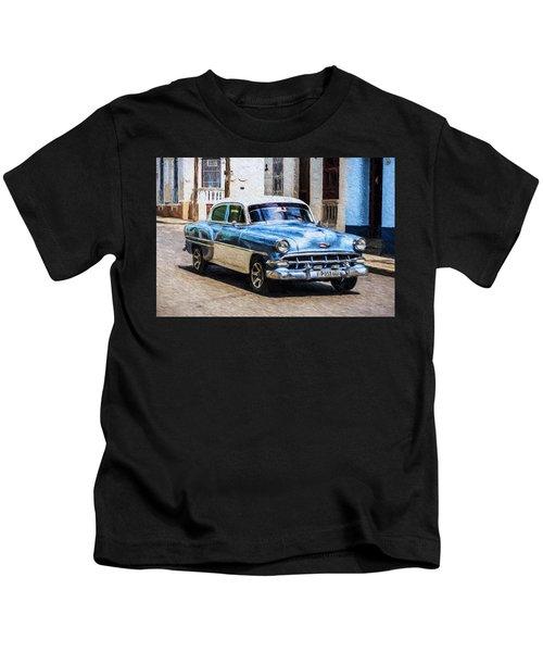 1954 Chevy Cuba Kids T-Shirt