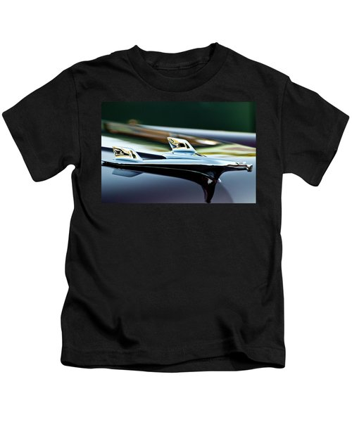 1956 Chevy Belair Hood Ornament Flying 1 Kids T-Shirt