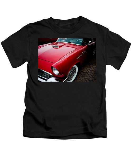 1956 Ford Thunderbird Kids T-Shirt