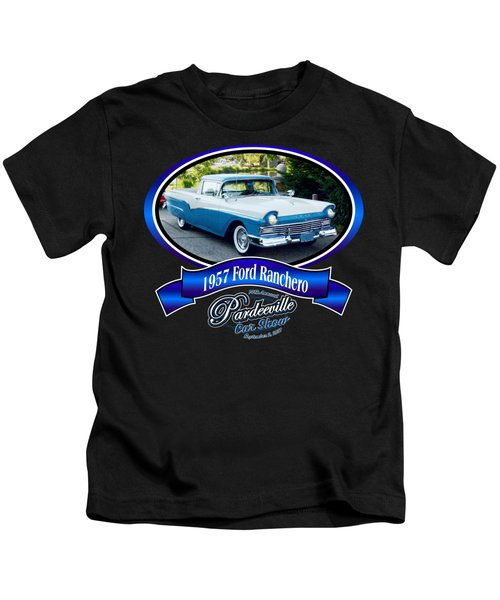 1957 Ford Ranchero Rufi Kids T-Shirt