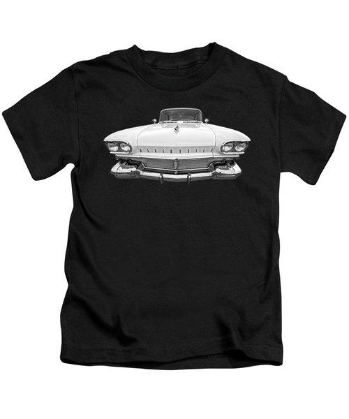 1958 Oldsmobile Rocket 88 Head On Kids T-Shirt
