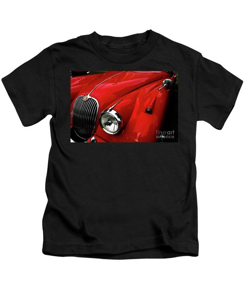 Red Jaguar Kids T-Shirt