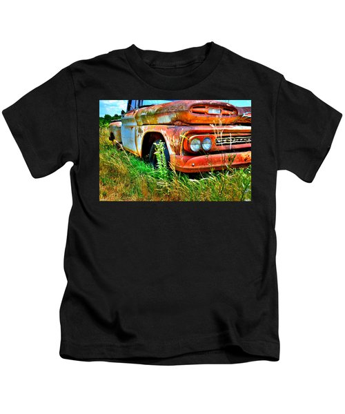 1961 Chevrolet Apache 10 5 Kids T-Shirt