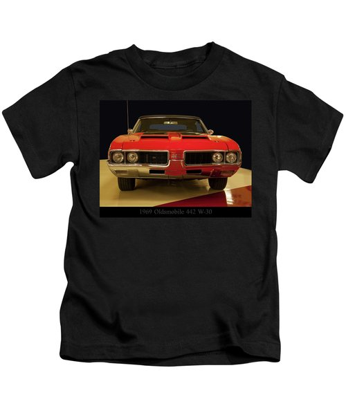 1969 Oldsmobile 442 W-30 Kids T-Shirt
