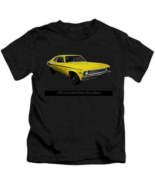 1971 Chevy Nova Yenko Deuce Kids T-Shirt