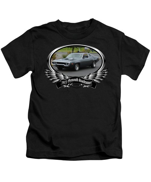 1972 Plymouth Roadrunner Grow Kids T-Shirt