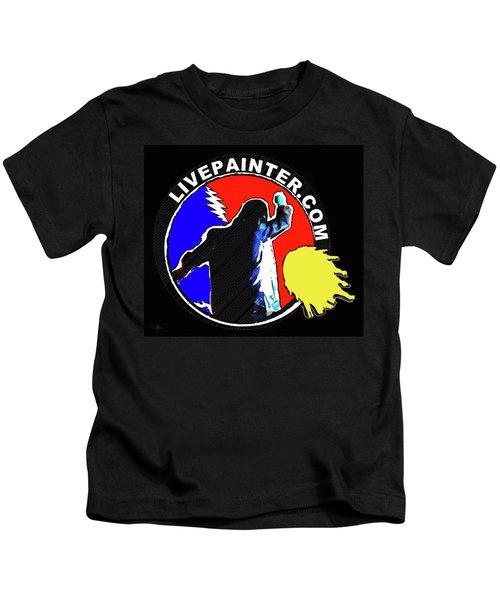1st Live Painter Logo Kids T-Shirt