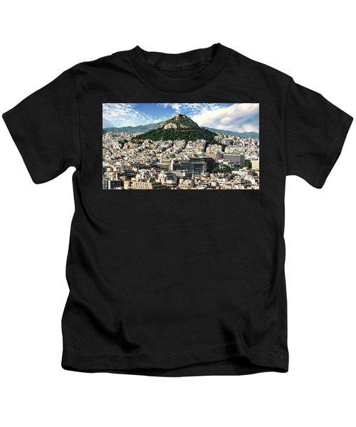 Athens Panorama Kids T-Shirt
