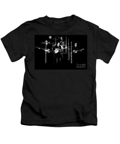 Beatles In Concert 1964 Kids T-Shirt
