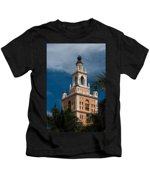 Coral Gables Biltmore Hotel Tower Kids T-Shirt