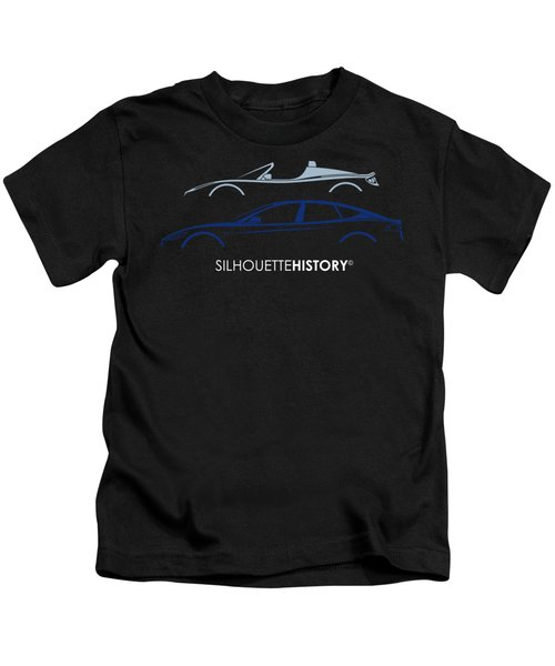 Electric Silhouettehistory Kids T-Shirt