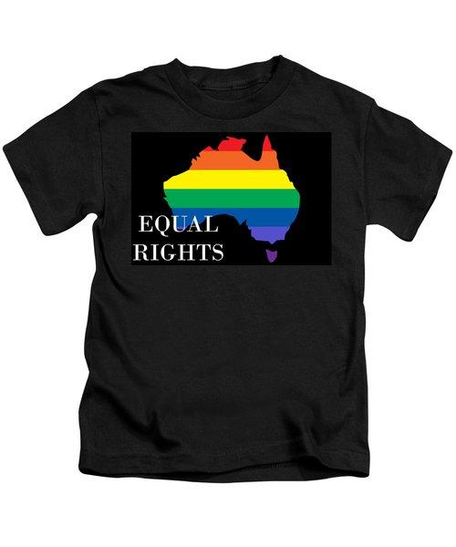 Equal Rights Australia Kids T-Shirt