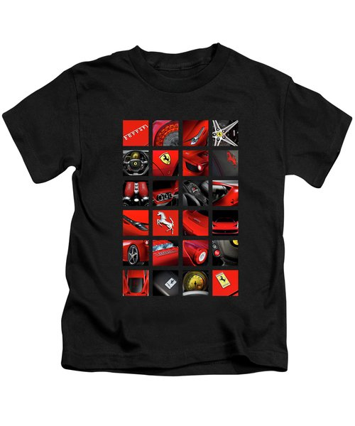 ferrari 458 Italia Kids T-Shirt