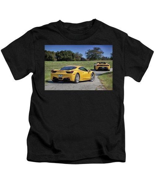 #ferrari #458italia #print Kids T-Shirt