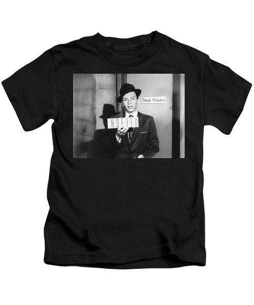Frank Sinatra Kids T-Shirt by Underwood Archives