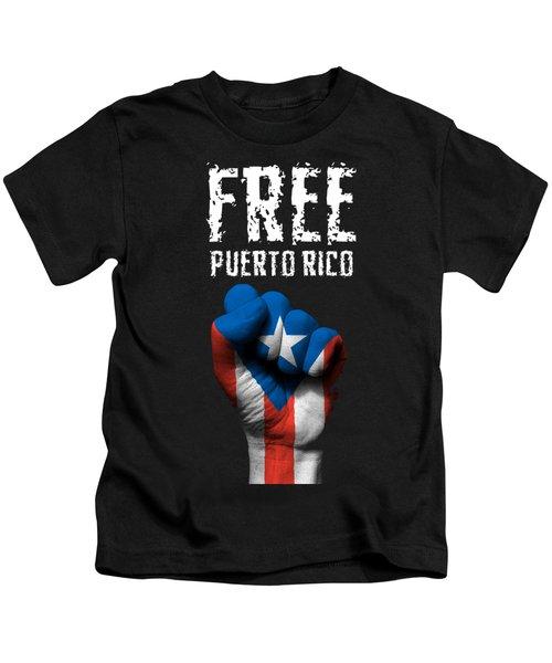 Free Puerto Rico Kids T-Shirt