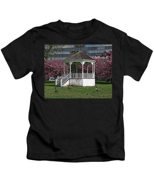 Gazebo In The Park Kids T-Shirt