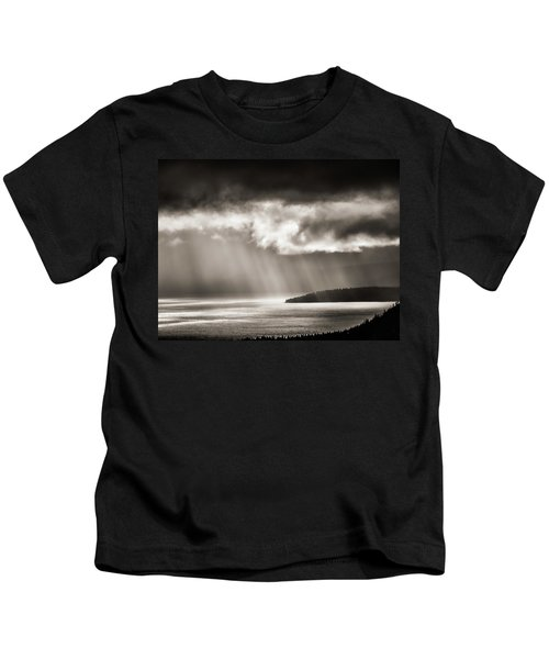 Lake Tahoe Storm Kids T-Shirt