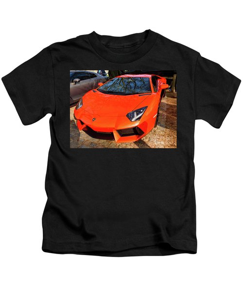 Lamborghini Aventador Kids T-Shirt
