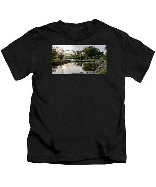 Midwest Sunset Kids T-Shirt