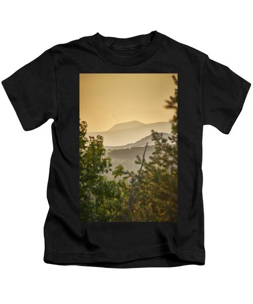 Mountains In The Distance Kids T-Shirt