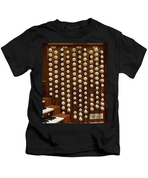Organ Stops Kids T-Shirt