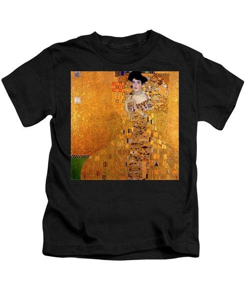 Portrait Of Adele Bloch-bauer Kids T-Shirt