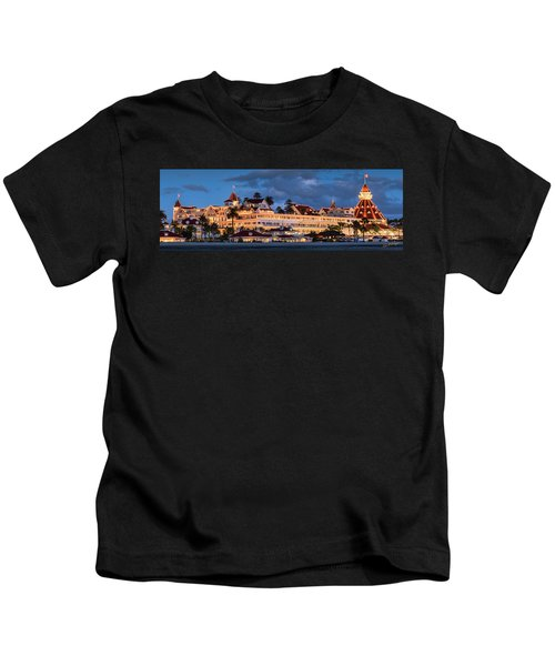 Pure And Simple Pano 60x20 Kids T-Shirt
