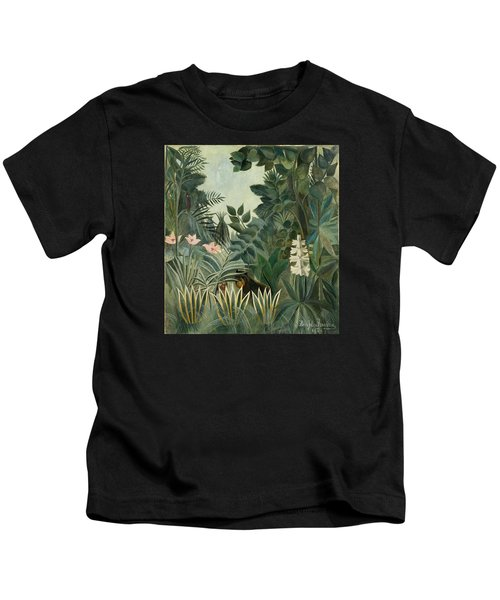 The Equatorial Jungle Kids T-Shirt