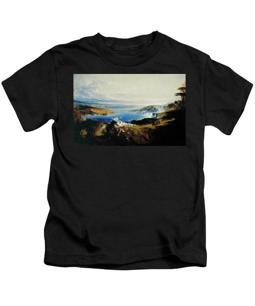 The Plains Of Heaven Kids T-Shirt