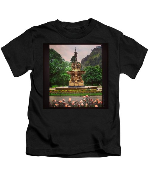Throwback Thursday #edinburgh #scotland Kids T-Shirt