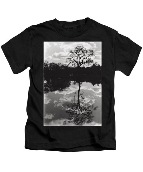 Tree Reflection Sebastopol Ca, Kids T-Shirt