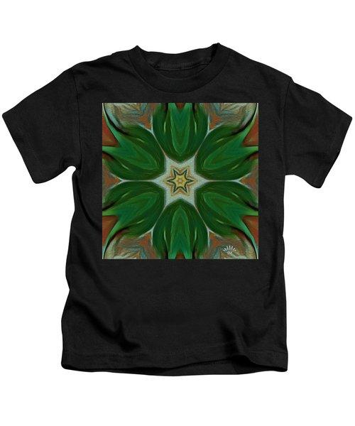 Watercolor Flower Art Kids T-Shirt