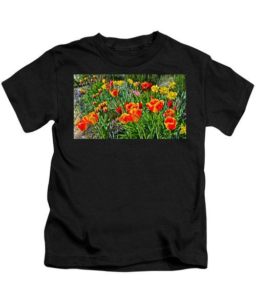 2015 Acewood Tulips 1 Kids T-Shirt