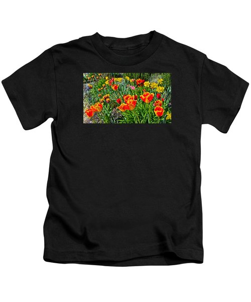 2015 Acewood Tulips 1 Kids T-Shirt