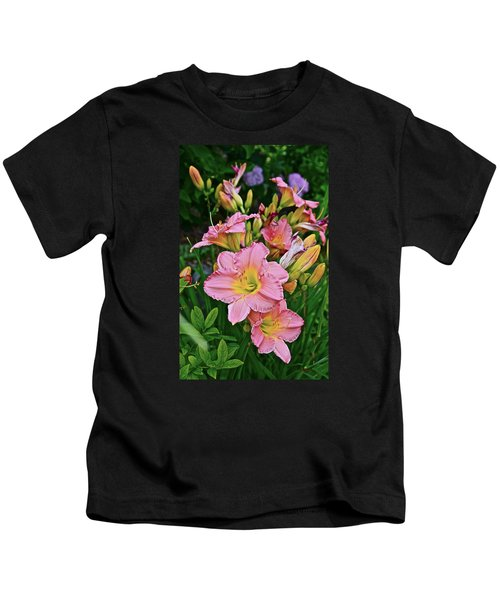 2015 Summer At The Garden Daylilies 1 Kids T-Shirt