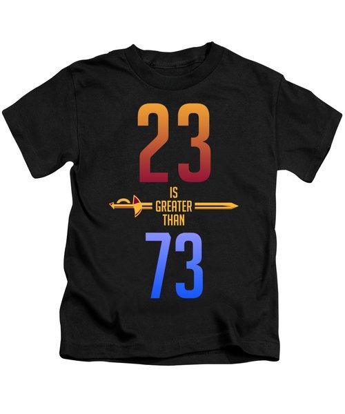 2373 Kids T-Shirt by Augen Baratbate