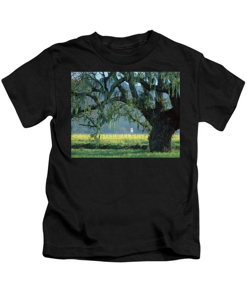 2b6319 Mustard In The Oaks Sonoma Ca Kids T-Shirt