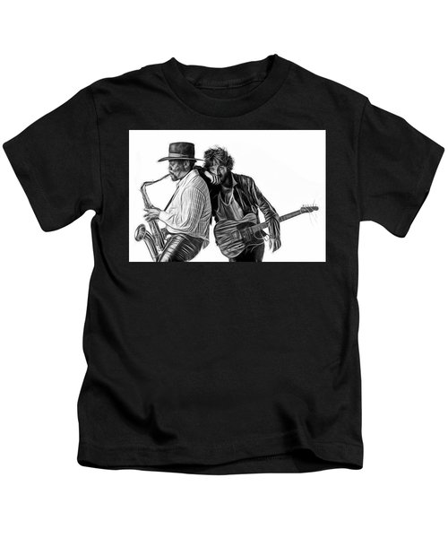 Bruce Springsteen Clarence Clemons Collection Kids T-Shirt