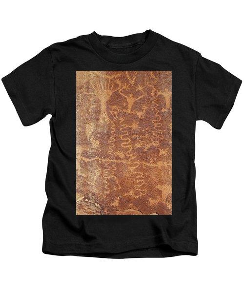 Petroglyph - Fremont Indian Kids T-Shirt