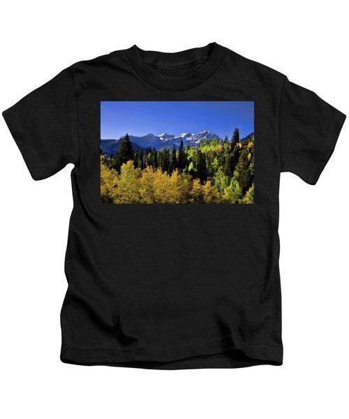 Autumn Splender Kids T-Shirt
