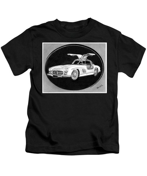 300 Sl Gullwing Kids T-Shirt