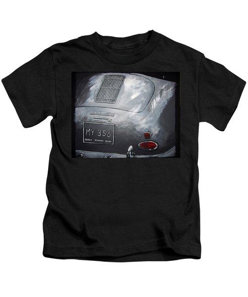 356 Porsche Rear Kids T-Shirt