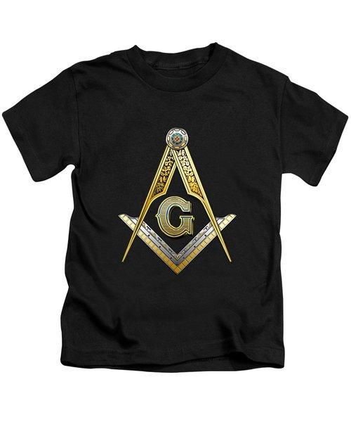 3rd Degree Mason - Master Mason Masonic Jewel  Kids T-Shirt