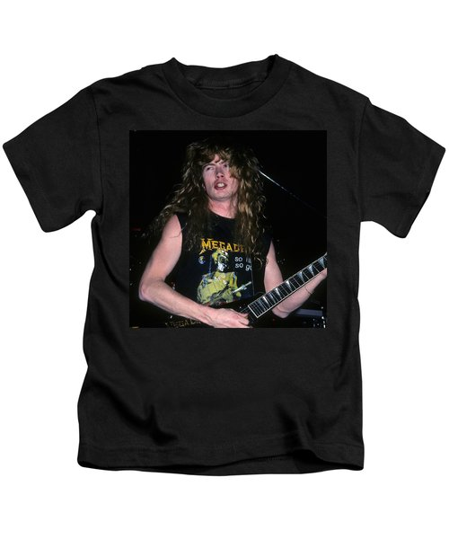 Dave Mustaine Of Megadeth Kids T-Shirt